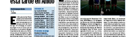 Noticia en DEPOR Sport
