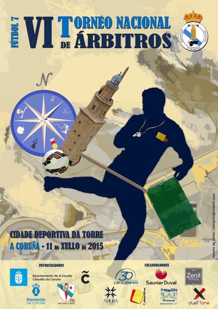 Cartel VI Torneo Nacional de Árbitros de Fútbol