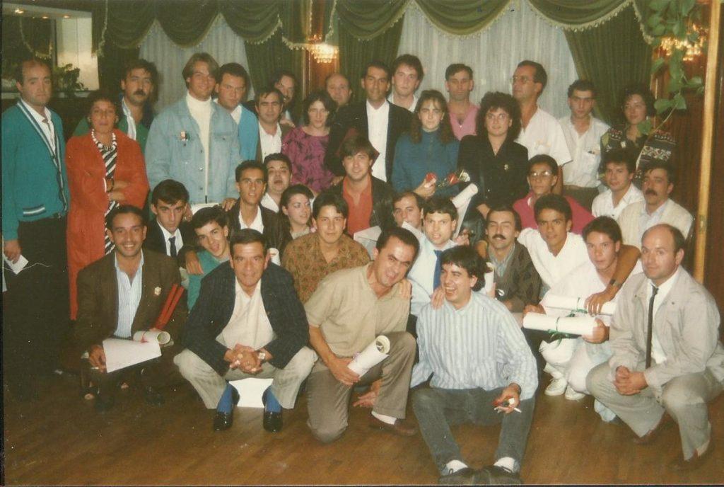 Cena Fin de Temporada 1988-1989(29-09-1989-Meson Pastoriza)1
